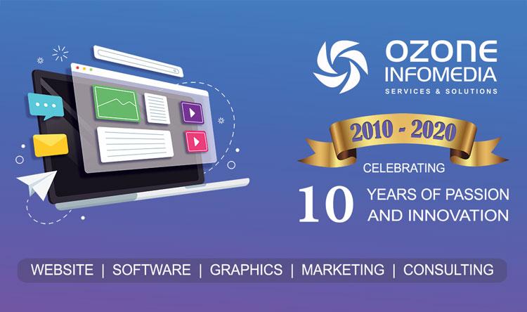 10 year of Ozone Infomedia